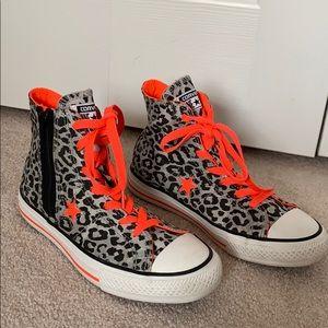 c5f360378d70 Converse · Women s Converse Cheetah High Tops ...